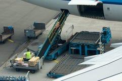 φόρτωση φορτίου Στοκ Εικόνες