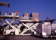 φόρτωση φορτίου Στοκ φωτογραφίες με δικαίωμα ελεύθερης χρήσης