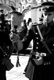 φύλακας Κρεμλίνο Μόσχα ρω& στοκ εικόνα με δικαίωμα ελεύθερης χρήσης