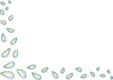 φύλλα γωνιών στοκ εικόνα
