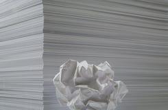 φύλλα εγγράφου Στοκ φωτογραφίες με δικαίωμα ελεύθερης χρήσης