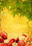 φύλλα λουλουδιών grunge απεικόνιση αποθεμάτων