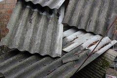Φύλλα πλακών για τη στέγη Στοκ φωτογραφία με δικαίωμα ελεύθερης χρήσης