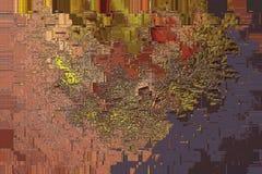 Φύλλα φθινοπώρου στο παλαιό ξύλινο υπόβαθρο grunge Τοπ άποψη των φύλλων grunge στο ξύλο Ακτινοβολήστε διεσπαρμένος στην επιφάνεια απεικόνιση αποθεμάτων