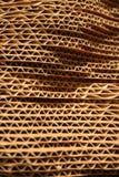 φύλλα χαρτονιού που συσσωρεύονται Στοκ εικόνα με δικαίωμα ελεύθερης χρήσης