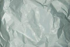 Φύλλο αλουμινίου αργιλίου με τις πτώσεις του νερού στοκ φωτογραφίες με δικαίωμα ελεύθερης χρήσης