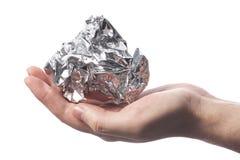 φύλλο αλουμινίου Στοκ φωτογραφία με δικαίωμα ελεύθερης χρήσης