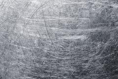 Φύλλο μετάλλων υποβάθρου με τις γρατσουνιές στην επιφάνεια, κείμενο χάλυβα στοκ εικόνες με δικαίωμα ελεύθερης χρήσης