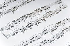 φύλλο μουσικής ανασκόπη&sig Στοκ εικόνα με δικαίωμα ελεύθερης χρήσης