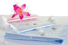 Φύλλο πολυαιθυλενίου για τη SPA ή την κλινική στοκ φωτογραφία με δικαίωμα ελεύθερης χρήσης