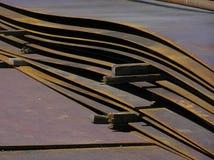φύλλο σιδήρου Στοκ Εικόνες