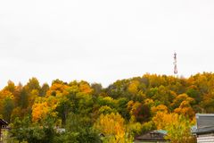 Φύλλωμα φθινοπώρου σε Gorokhovets Στοκ φωτογραφία με δικαίωμα ελεύθερης χρήσης