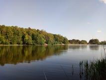 Φύση άνοιξη στη λίμνη στοκ φωτογραφίες με δικαίωμα ελεύθερης χρήσης
