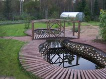 φύση, αναψυχή, εξοχικό σπίτι Στοκ φωτογραφία με δικαίωμα ελεύθερης χρήσης