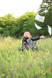 φύση εγγράφων σύλληψης επ&iot Στοκ φωτογραφία με δικαίωμα ελεύθερης χρήσης
