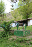 Φύση και κενό χωριό στη Μολδαβία Στοκ φωτογραφία με δικαίωμα ελεύθερης χρήσης