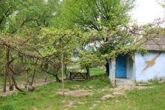 Φύση και κενό χωριό στη Μολδαβία Στοκ Εικόνες
