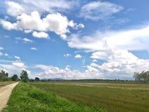 Φύση και σύννεφα Στοκ εικόνα με δικαίωμα ελεύθερης χρήσης