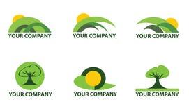 φύση λογότυπων Στοκ Εικόνα