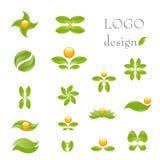 φύση λογότυπων Στοκ Εικόνες