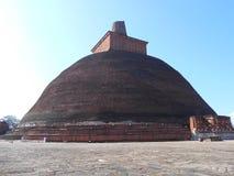 Φύση πανέμορφο Anuradhapura Jethawanaramaya ομορφιάς στοκ εικόνα με δικαίωμα ελεύθερης χρήσης