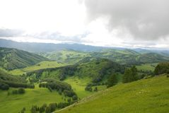 Φύση στα βουνά Altai Στοκ Εικόνες
