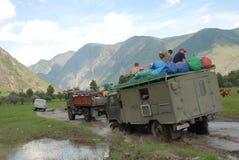 Φύση στα βουνά Altai Στοκ Φωτογραφίες