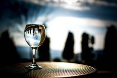 Φύση στο γυαλί Στοκ Φωτογραφίες