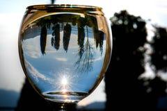 Φύση στο γυαλί Στοκ φωτογραφία με δικαίωμα ελεύθερης χρήσης