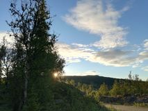 Φύση της Νορβηγίας στοκ εικόνα