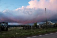 Φύση, τοπίο, Ρωσία στοκ εικόνα