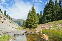 Φύση του Κιργιστάν, φαράγγι του Gregory Στοκ Εικόνες