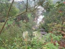 Φύση του ναού Gedong Songo Ιάβα στοκ εικόνες