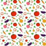 Φύση χρωμάτων τροφίμων λαχανικών διανυσματική απεικόνιση