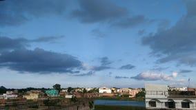 Φύση - όμορφος ουρανός Στοκ Φωτογραφίες