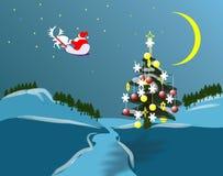 φύση holidey Χριστουγέννων Στοκ Εικόνες