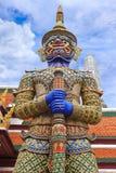 Φύλακας δαιμόνων σε Wat Phra Στοκ φωτογραφία με δικαίωμα ελεύθερης χρήσης