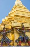 Φύλακας δαιμόνων σε Wat Phra Kaeo Στοκ Φωτογραφία
