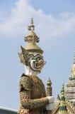 Φύλακας δαιμόνων σε Wat Phra Kaeo στοκ φωτογραφίες με δικαίωμα ελεύθερης χρήσης