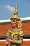 Φύλακας δαιμόνων σε Wat Phra Kaeo Στοκ Εικόνα