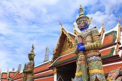 Φύλακας δαιμόνων σε Wat Phra Kaew Στοκ φωτογραφίες με δικαίωμα ελεύθερης χρήσης