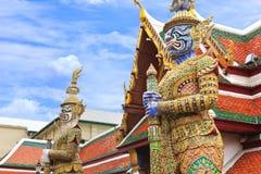 Φύλακας δαιμόνων σε Wat Phra Kaew Στοκ φωτογραφία με δικαίωμα ελεύθερης χρήσης