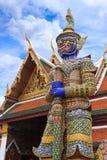 Φύλακας δαιμόνων σε Wat Phra Kaew Στοκ Φωτογραφία