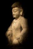 Φύλακας του ναού Nyatapola, Bhaktapur Στοκ φωτογραφία με δικαίωμα ελεύθερης χρήσης