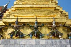 Φύλακες δαιμόνων σε Wat Phra Kaeo Στοκ Εικόνες