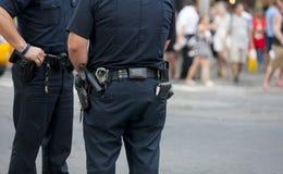 Φύλαξη αστυνομίας Στοκ εικόνα με δικαίωμα ελεύθερης χρήσης