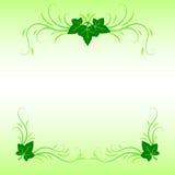 Φύλλα και διακόσμηση χλόης Στοκ εικόνα με δικαίωμα ελεύθερης χρήσης