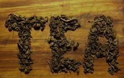 Φύλλα τσαγιού Στοκ Φωτογραφία