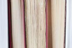 Φύλλα των βιβλίων Στοκ Εικόνες