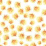 Φύλλα Backgrund φθινοπώρου κρητιδογραφιών Στοκ Εικόνες